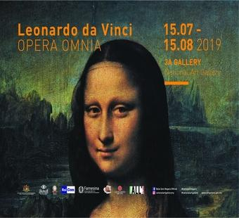 Leonardo Da Vinci exhibition, Leonardo Opera Omnia, National Art Gallery's (NAG)